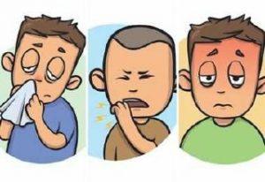 أعراض النزلة الشعبية عند الأطفال