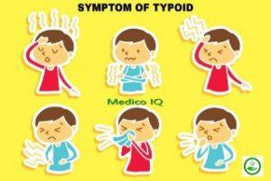 أعراض_حمى_التيفود
