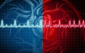 مخطط رسم القلب (الفرق بين القلب السليم والمصاب)