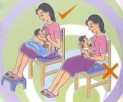 زيادة حليب الأم من خلال الجلوس الصحيح